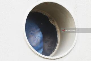 Video - Begini Fenomena Mudik Awal ke Kampung Halaman di Terminal Gapura Surya