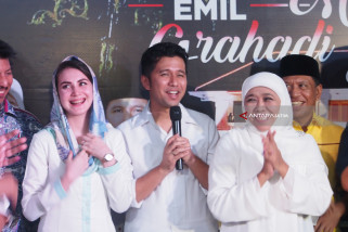 KPU Nyatakan Khofifah-Emil Pemenang Pilkada Jatim