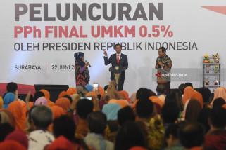 Presiden Jokowi Pastikan KUR BRI tanpa Jaminan (Video)