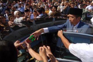 Ucapan Selamat HUT ke-81 Perum LKBN Antara dari Presiden Joko Widodo