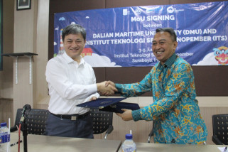 ITS-DMU Tiongkok Kerja Sama Tingkatkan Riset Teknologi Maritim