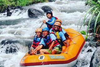 Wisata Songgon tetap Ramai Pasca-banjir