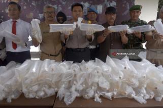 Polisi Trenggalek Gagalkan Penyelundupan 35 Ribu Benur