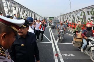 Arus Mudik Melintasi Jembatan Widang Tuban Meningkat