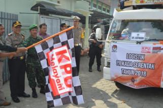 Polres Madiun Kota Kawal Pendistribusian Logistik Pilkada