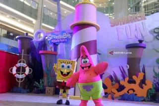 Serunya Liburan bersama Spongebob & Patrick di Pluit Village