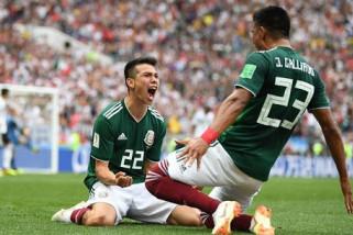 Pertahanan Terguncang, Korsel Kalah 2-1 dari Meksiko