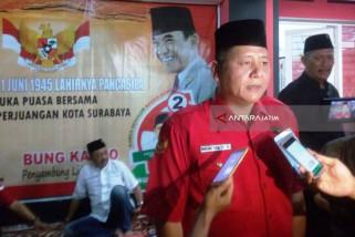 Ribuan Simpatisan PDIP Surabaya Tasyakuran Hari Lahir Pancasila