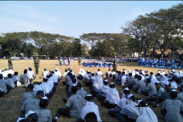 Ribuan Pelajar Ponorogo Ikuti Pelatihan Bela Negara