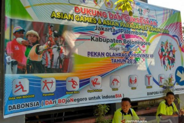 """Pemkab Bojonegoro Mulai Benahi """"Venue"""" untuk Porprov"""