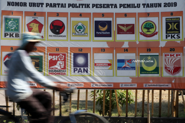 KPU Tulungagung Imbau Parpol Segera Laporkan Dana Kampanye