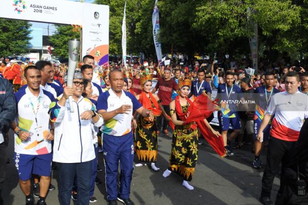 Kirab Obor Asian Games