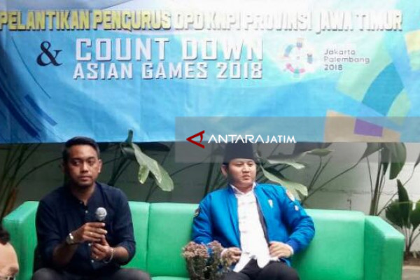 KNPI Jatim Gelorakan Semangat Asian Games 2018