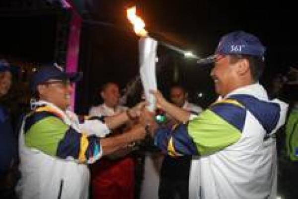 Obor Asian Games Dilepas Menuju Gunung Bromo