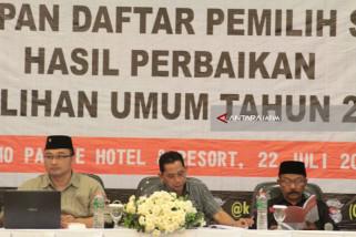 KPU Kabupaten Kediri Umumkan Daftar Pemilih Sementara Hasil Perbaikan