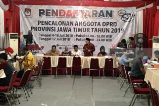KPU Jatim Temukan Perubahan Bacaleg