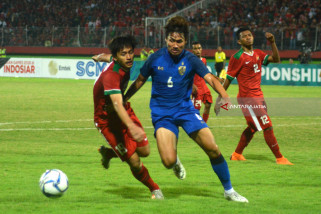 Piala AFF U19 Indonesia VS Thailand