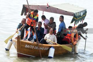"Video - \""Baito Deling\"" Kapal Bambu Laminasi Pertama di Dunia"