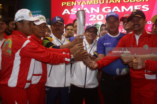 Api Obor Asian Games 2018 Di Malang