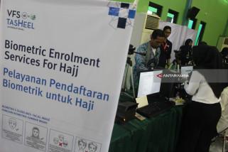 Pelayanan Pendaftaran Biometric Calon Haji