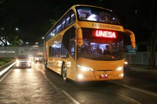 Dishub Surabaya Uji Coba Bus Tingkat