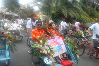 Ratusan Peserta Mancanegara Tampilkan Tarian Tradisional di Surabaya Cross Culture