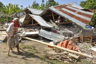 104 kali Gempa Susulan Pascagempa NTB