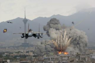 Israel Gencarkan Serangan Udara, Palestina Membalas