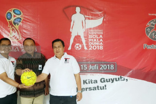 Satukan Pekerja-Pengusaha, SIER Gelar Nobar Final Piala Dunia 2018