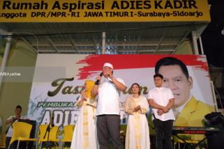 Adies Kadir Resmikan Rumah Aspirasi Untuk Warga Surabaya-Sidoarjo