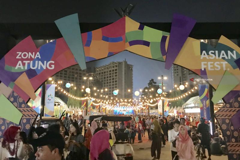 Ramaikan Asian Games di GBK, Mampir di Zona Atung