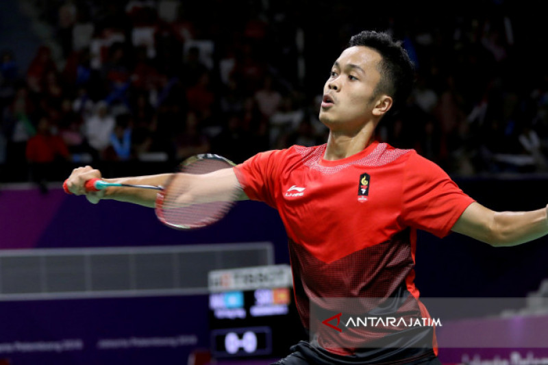 Ginting ke Final China Terbuka
