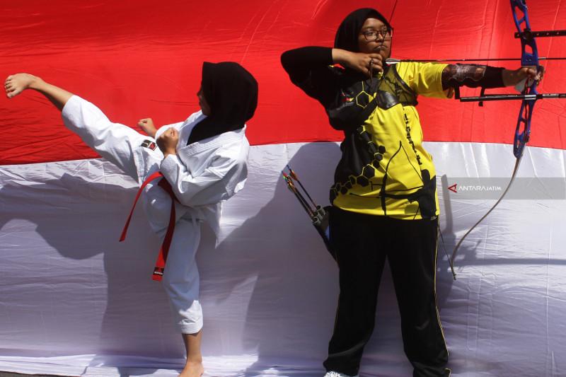 Peringatan HUT Ke-73 RI Di Malang