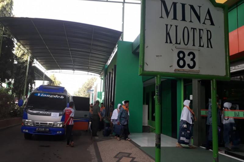 Kloter Terakhir Embarkasi Surabaya Masuk Asrama