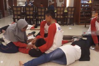 Malam Inaugurasi, SMN Sumsel Tampilkan Drama 10 November (Video)