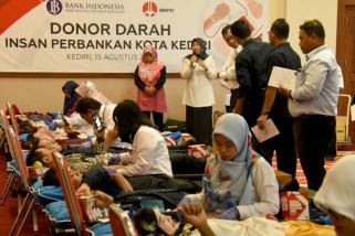 Wawali Kediri  Ajak Masyarakat Donor Darah Bantu Korban Gempa Lombok