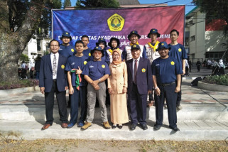 Tim Trauma Healing Unej Bantu Pemulihan Psikologis Korban Gempa di Lombok