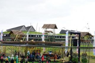 Banyuwangi Hidupkan Angklung Menara Bambu