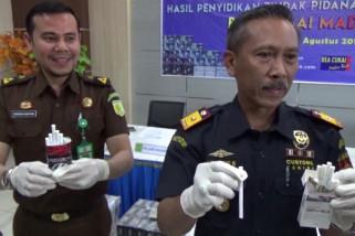 Bea Cukai Madiun Tangkap Pengedar Rokok Ilegal