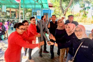 BNI Cabang Surabaya Galakkan Program Laku Pandai di Kenjeran.
