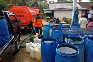 BPBD Tulungagung Suplai Air Bersih Antisipasi Kekeringan