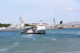 KRI Tiba di Pearl Harbour