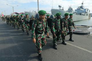 Pengiriman Pasukan TNI Ke Lombok