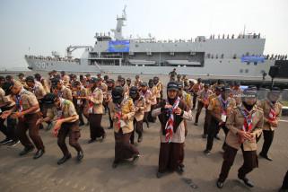 Pemberangkatan Pelayaran Lingkar Nusantara 8