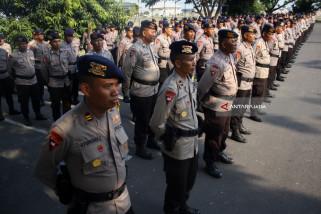 Pemberangkatan Pasukan BKO Brimob Polda Jatim