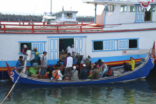 Penumpang Perahu Kepulauan