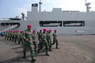 Satgas Rimpac Tiba Di Surabaya