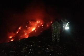 TPA Sampah Mrican Ponorogo Terbakar