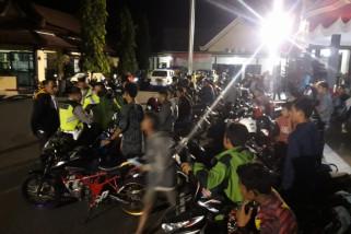 Operasi Semeru Polres Ponorogo Amankan 46 Kendaraan