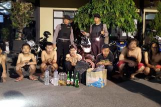 Polres Ponorogo Amankan Delapan Orang Mabuk